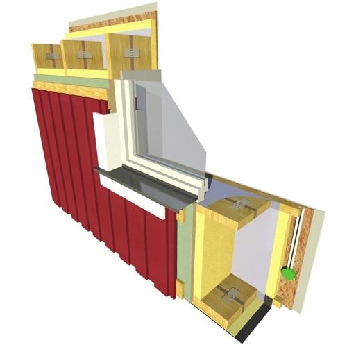External walls u 0 168 0 110 w m²xk