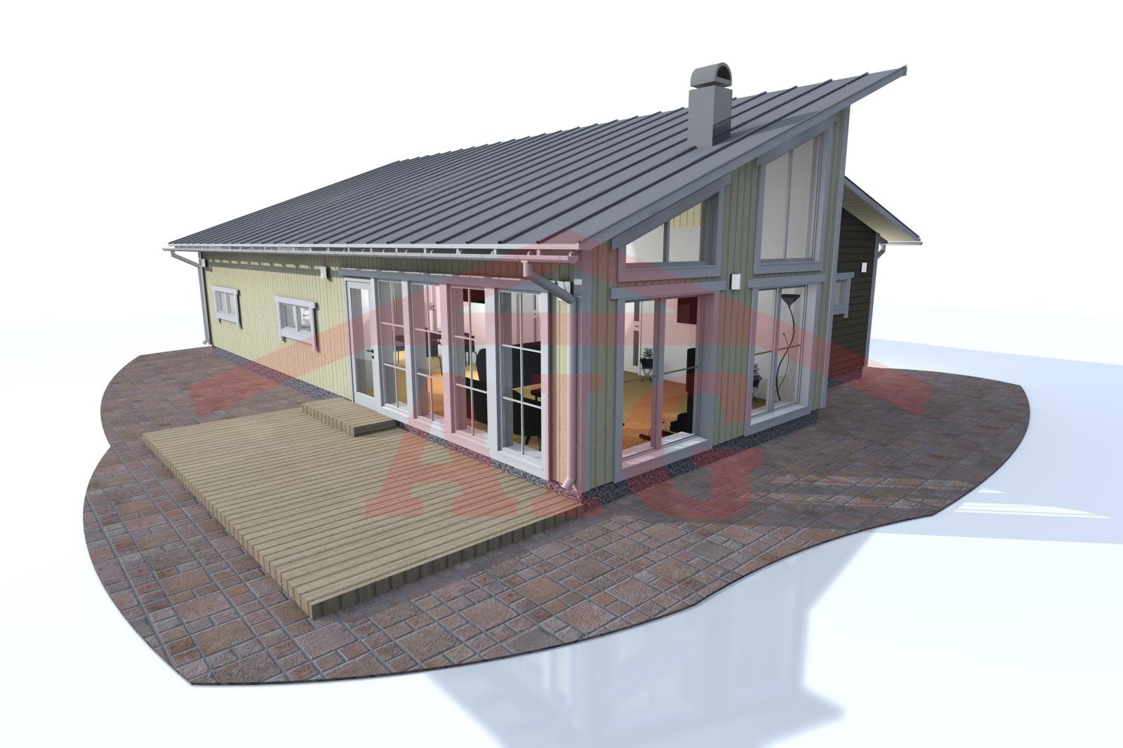 Fritidshus byggsats billigt – Lufting mellom isolasjon og undertak